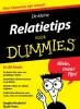 <b>Ang&egrave;le  Nederlof, Sjaak  Vane</b>,De kleine relatietips voor Dummies