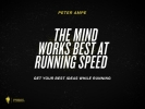 <b>Peter  Ampe</b>,The mind works best at 10km/h