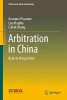 Giovanni Pisacane,   Leah Murphy,   Calvin Zhang,Arbitration in China