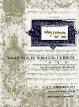 Ben Zvi, Ehud Readings in Biblical Hebrew