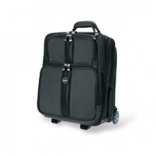 , Laptoptas Trolley Kensington Overnight 17 zwart