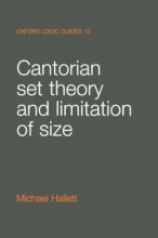 Michael Hallett Cantorian Set Theory and Limitation of Size