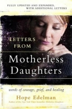 Hope Edelman Letters from Motherless Daughters