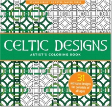 Celtic Designs Artist`s Adult Coloring Book