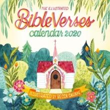 Workman Publishing Illustrated Bible Verses Wall Calendar 2020