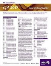 American Medical Association CPT 2017 Express Reference Coding Card General/Internal Medicine