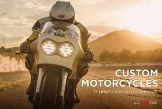 Chris Hunter Custom Motorcycle Calendar 2020