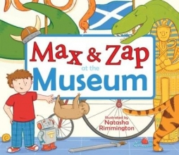 MacPherson, Molly Max and Zap at the Museum