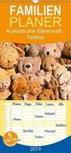 Bölts, Meike Bölts, M: Kunterbunte Bärenwelt - Teddys - Familienplaner ho