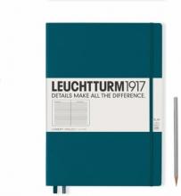 , Leuchtturm notitieboek master slim a4 lijn pacific