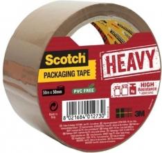 , Verpakkingstape Scotch Heavy 50mmx50m bruin