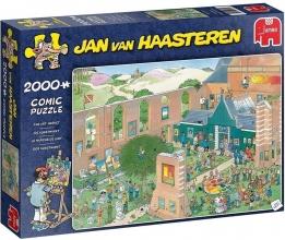 , Jan van Haasteren De kunstmarkt - 2000 stukjes