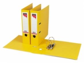 , Ordner Quantore A4 80mm PP geel