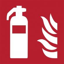 , Pictogram Tarifold brandblusser 150x150mm