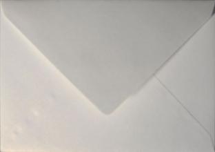 , Envelop Papicolor EA5 156x220mm metallic parelwit