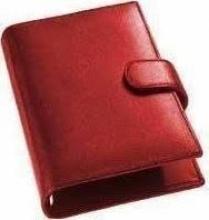 Om212rp12.10 , Succes agendaomslag mini porto rood
