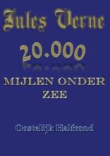 Jules  Verne 20.000 mijlen onder zee Oostelijk Halfrond
