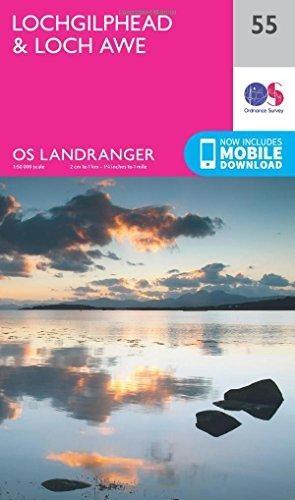Ordnance Survey,Lochgilphead & Loch Awe