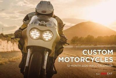Chris Hunter,Custom Motorcycle Calendar 2020