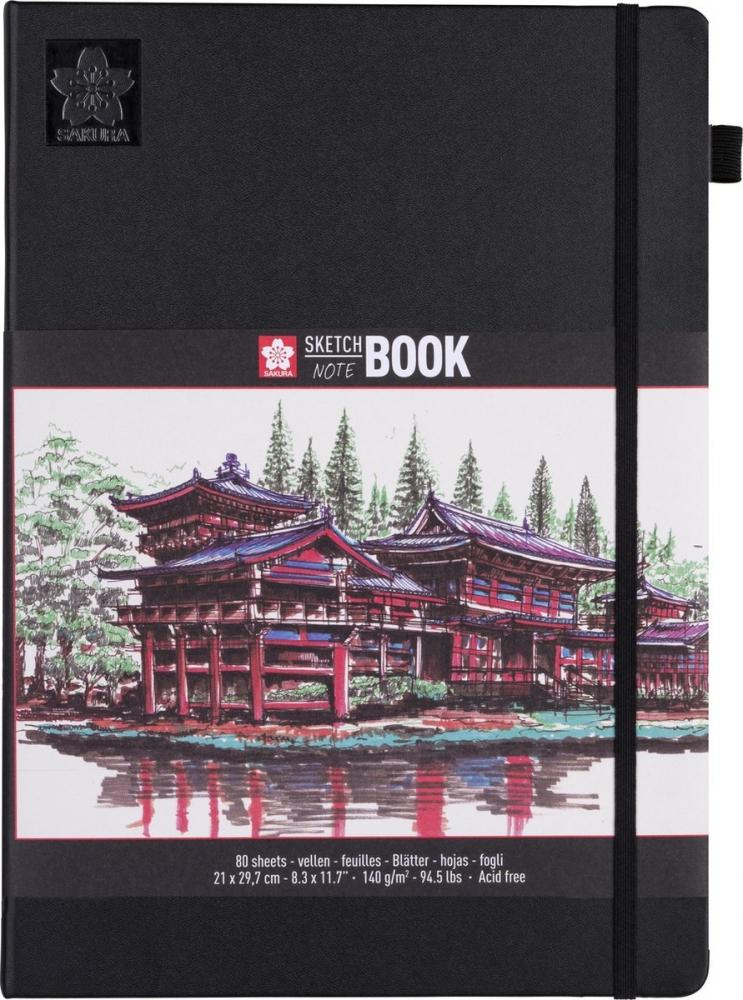 ,Schets-notitieboek Sakura A4 wit