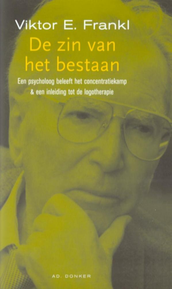 V.E. Frankl,De zin van het bestaan