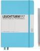 <b>Lt357482</b>,Leuchtturm notitieboek medium 145x210 dots / bullets ijsblauw