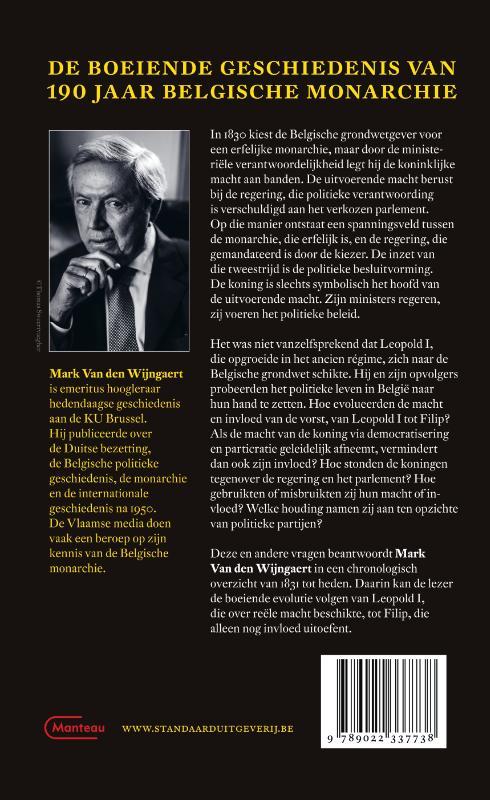 Mark Van den Wijngaert,België en zijn koningen