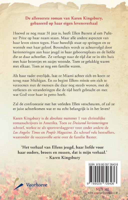 Karen Kingsbury,Duizend herinneringen