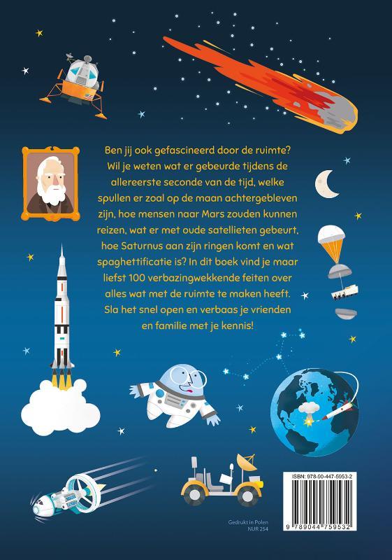 ,100 waanzinnige weetjes over de ruimte