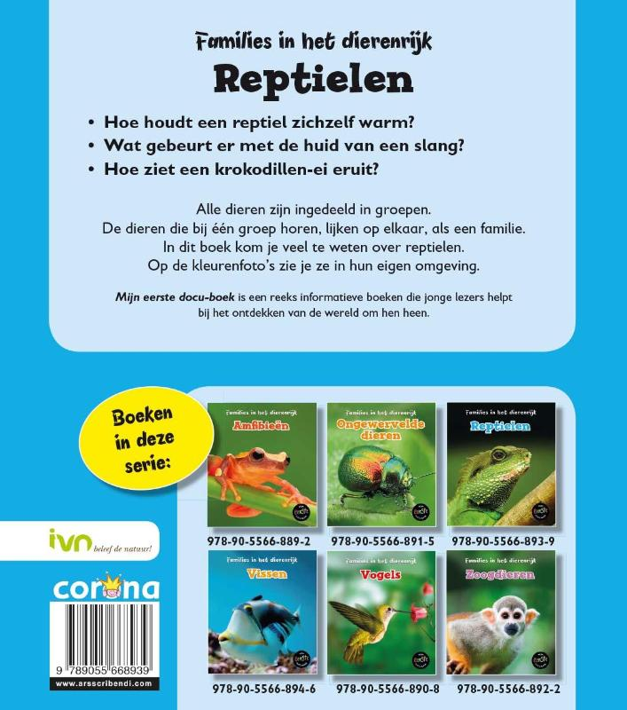 Angela Royston,Reptielen
