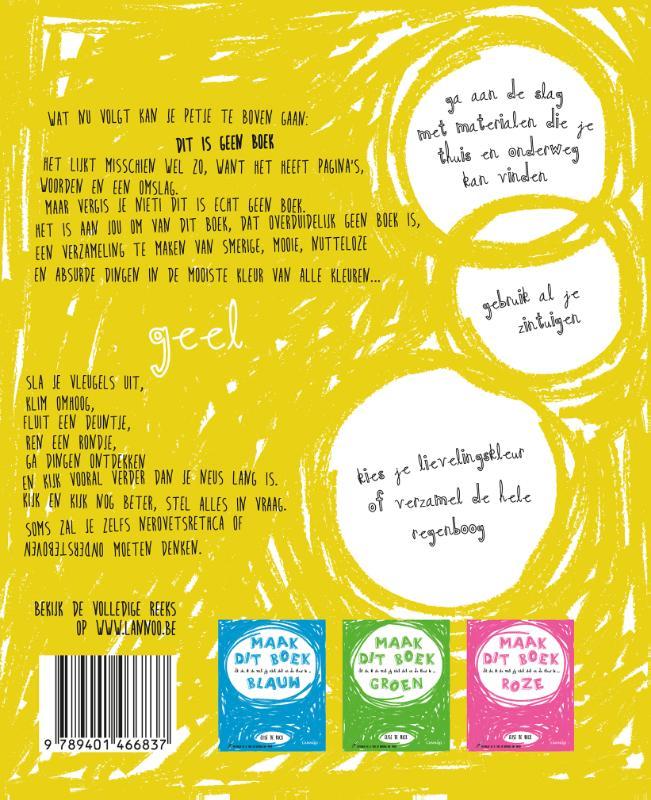 Elise De Rijck,Ik zie, ik zie wat jij niet ziet en de kleur is ... geel