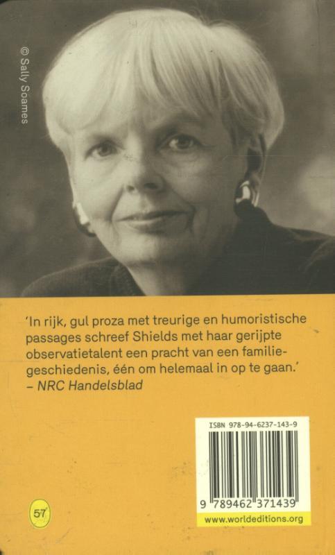Carol Shields,De stenen dagboeken