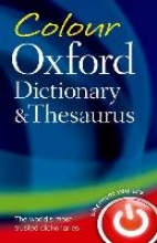 Oxford Dictionaries Colour Oxford Dictionary & Thesaurus