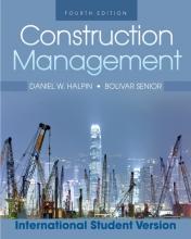 Halpin, Daniel W. Construction Management