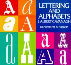 Cavanagh, J. Albert Lettering and Alphabets