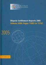 World Trade Organization Dispute Settlement Reports 2005