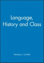 Corfield, Penelope J. Language, History and Class
