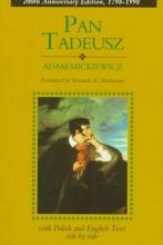 Mickiewicz, Adam Pan Tadeusz/English and Polish Text