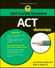 Hatch, Lisa Zimmer,   Hatch, Scott A. 1,001 ACT Practice Questions for Dummies