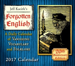 Kacirk, Jeffrey Cal 2017-Forgotten English