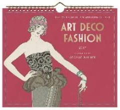 Art Deco Fashion 2017 Calendar