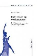 Cutcan, Simona Subversion ou conformisme ?