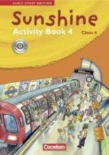 Sunshine - Early Start Edition 4 - Activity Book mit CD-Extra