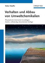 Klöpffer, Walter Verhalten und Abbau von Umweltchemikalien
