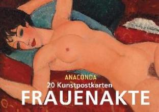 Anaconda Postkartenbuch Frauenakte