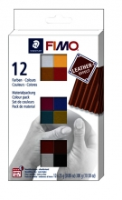, Klei Fimo  leather-effect colour  ass