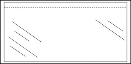 , Paklijstenvelop Quantore zelfklevend blanco 230x121mm 1000st