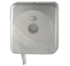 , Dispenser Euro Pearl toiletrolhouder maxi wit