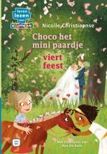 Nicolle  Christiaanse Choco het minipaardje viert feest