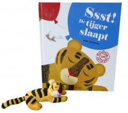 Britta  Teckentrup Ssst! De tijger slaapt + vingerpopje
